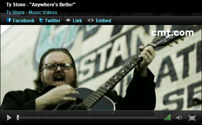 &quot;Anywhere's Better&quot; on CMT.com